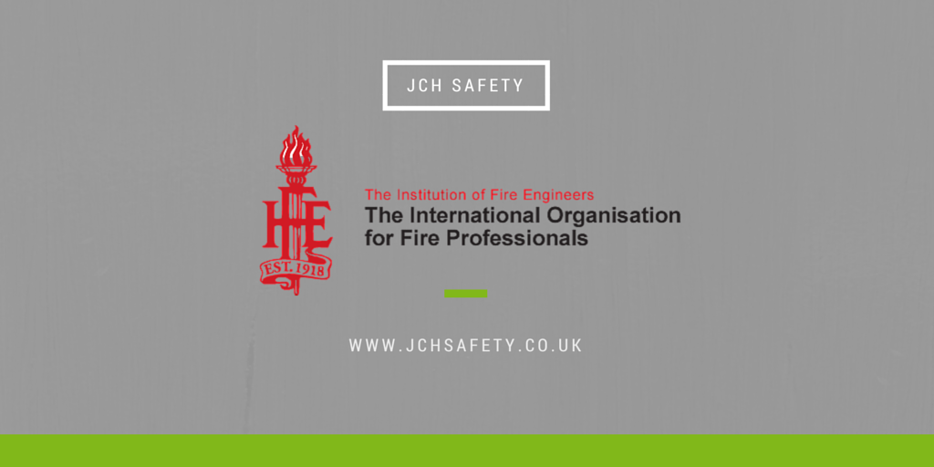 JCH Safety Recognized by Institution of Fire Engineers