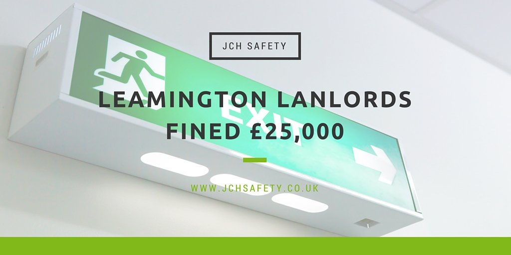 Landlords in Leamington fined £25k