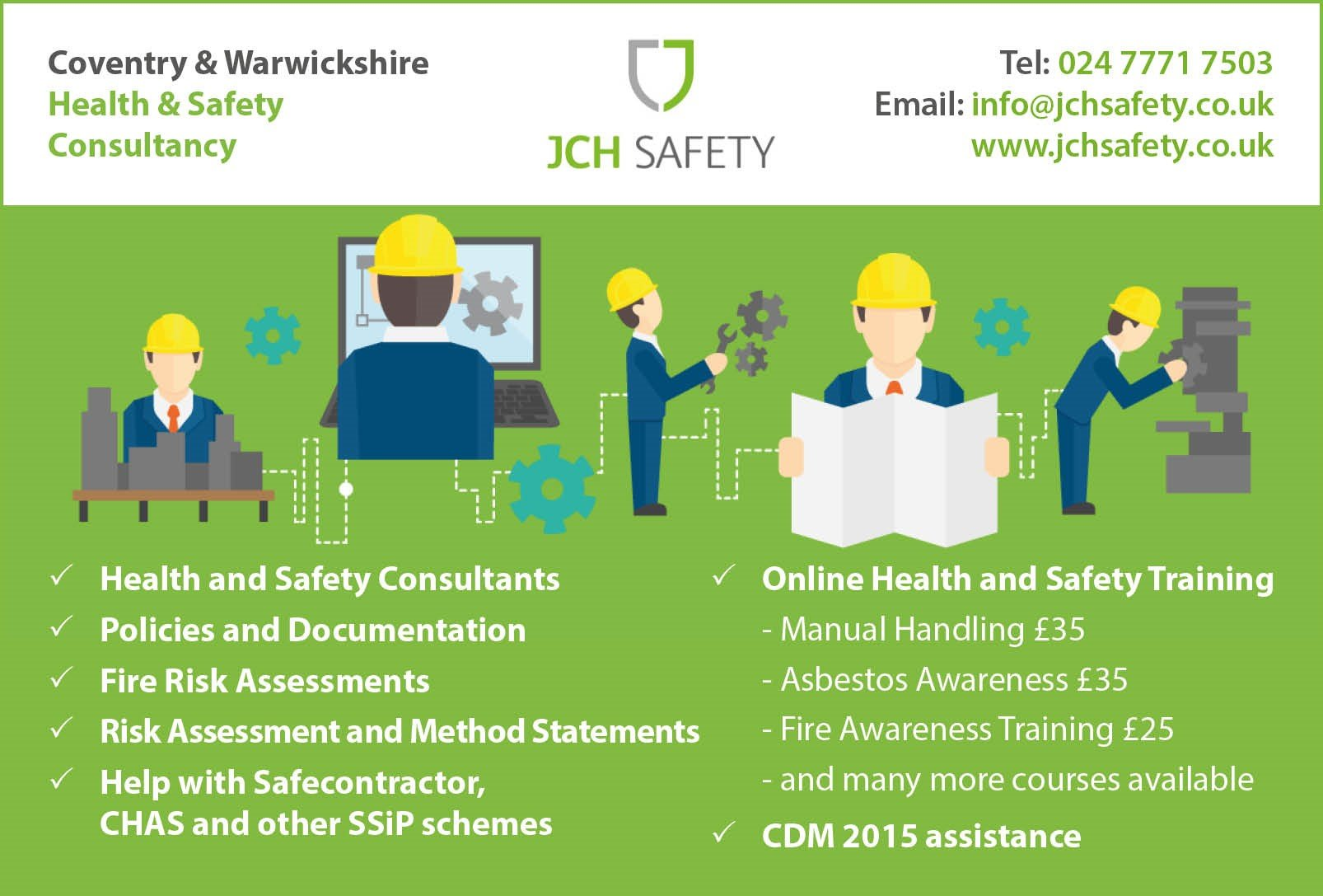 Coventry & Warwickshire Health and Safety Consultancy